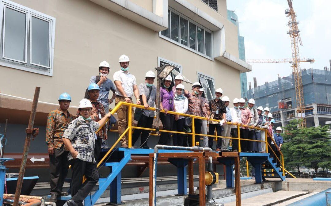 Kunjungan Delegasi Hongaria ke IPAL MBBR PD PAL Jaya