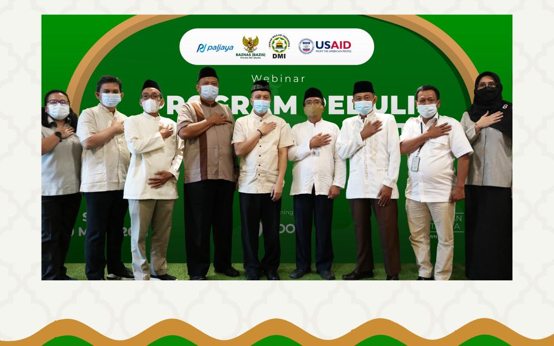 Webinar Sosialisasi Peduli Lingkungan Masjid